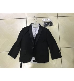 Costume d'enfant noir