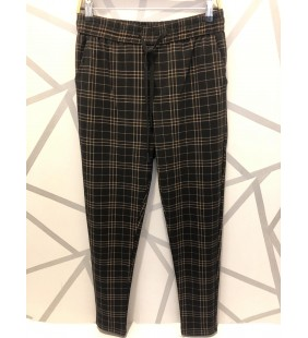Pantalon à carreau