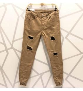 Pantalon slim new stone