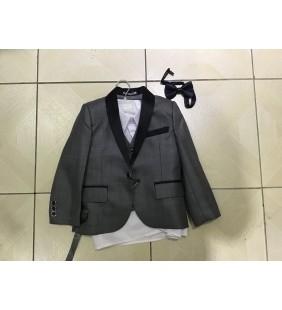 Costume d'enfant gris