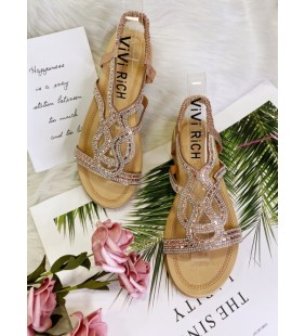 Sandal strass