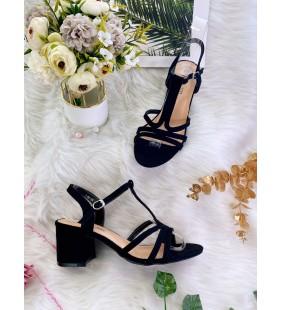 Sandal à petit talon